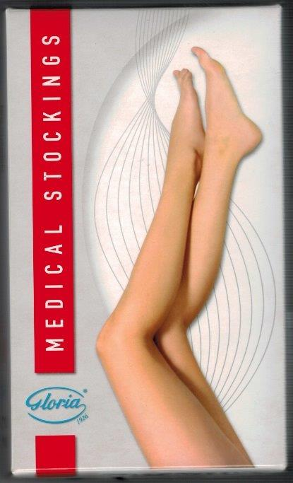 SALE - Gloria 361 Thigh High (to be used with suspender belt)  Medical Compression stockings 40-50 mmHg Open Toe COLOUR BEIGE  ON SALE WHILE STOCK LASTS