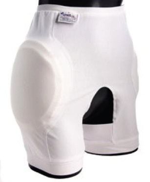 Hipsaver Hip Protectors - Open Bottom High Compliance (With sewn-in Pads)