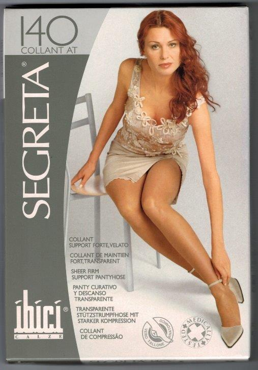 SALE - Ibici 140 Pantyhose Medical Compression stockings 15-20 mmHg Closed Toe COLOUR BEIGE CREAM TAN LIGHT GREY GREY NAVY   ON SALE WHILE STOCK LASTS