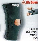 McDavid A415B Deluxe Thermal Cartilage Knee Support COLOUR  BLACK  ON SALE WHILE STOCK LASTS