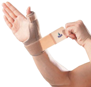 OPPO 1289 wrist/thumb support w/strap