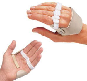 Rolyan radial hinged deviation splint