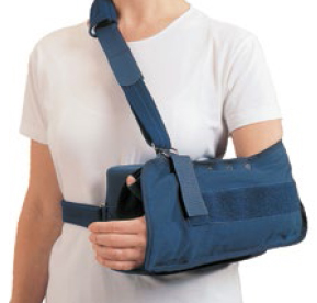 Rolyan shoulder support abduction sling