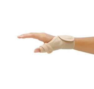 how to make a thumb spica splint