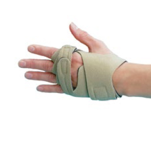 Rolyan hand-based in-line splint