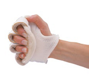 Rolyan palm protector with finger separator