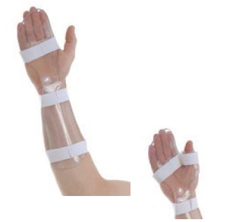 Cock-up resting hand splint