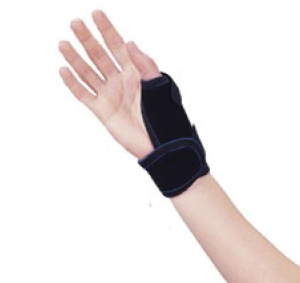 Rolyan thermo-form thumb splint