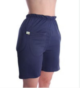 Hipsaver Hip Protecting Shorts with Tailbone Protection (with sewn-in Pads)