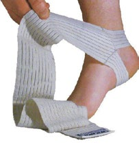 Body Assist 01A10 elastic ankle wrap with heel loop