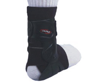 McDavid A188G Ultra graphite hinged ankle