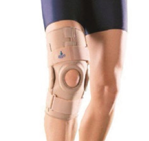 Oppo 1031 knee stabiliser hinged