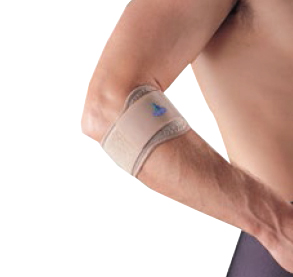 OPPO 1486 tennis elbow support with silicone pad