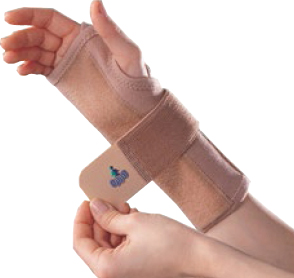 OPPO 2288 wrist splint with strap