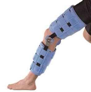 Oppo 4039 post-op motion control knee splint