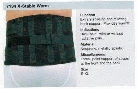 Rehband 7134  X Stable Warm COLOUR  BLACK  ON SALE WHILE STOCK LASTS