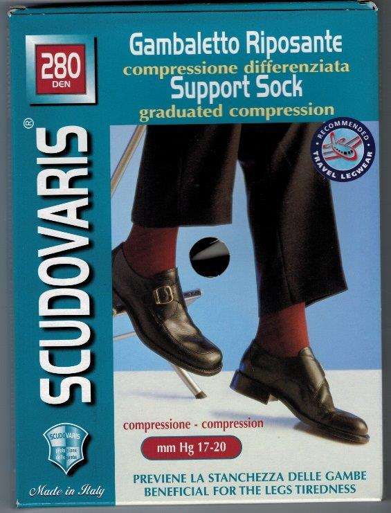 Scudotex 450 Below Knee  Medical Compression stockings 15-20 mmHg Closed Toe COLOUR ECRU ON SALE WHILE STOCK LASTS