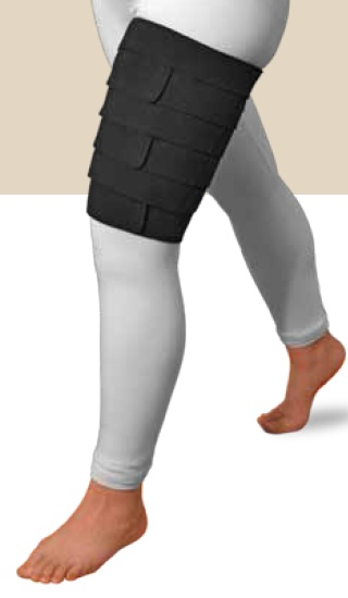 Solaris ReadyWrap Thigh Short Stretch Compression Garment