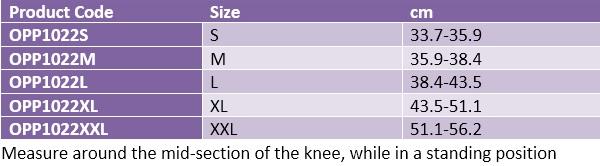 Oppo 1022 Knee Support