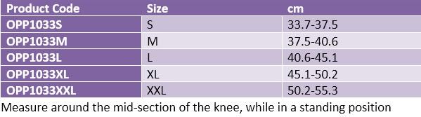 Oppo 1033 knee support patella stabilizer