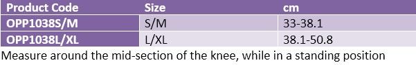 Oppo 1038 knee support