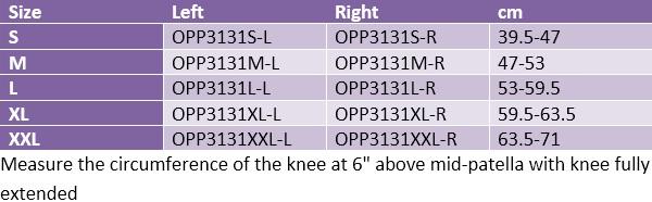 Oppo 3131 Secure Pro Hinged ROM Knee Brace