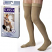 Jobst For Men Thigh High Grip Top Medical Compression Stockings 30-40 mmHg Closed Toe image