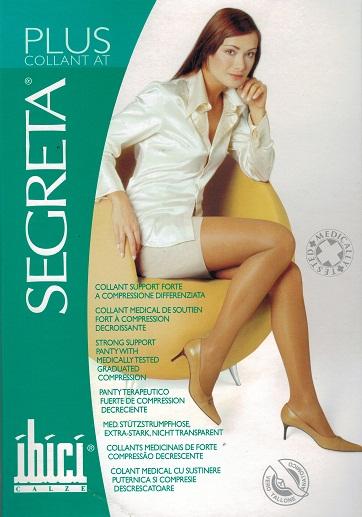 Ibici Segreta PLUS Waist High Medical Compression Stockings 23-27 mmHg Closed Toe