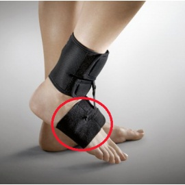 Foot-up drop foot orthosis Shoeless-Wrap Accessory