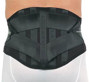 Rehband 1055  Dosi Comfort Lumbar support COLOUR  BLACK  ON SALE WHILE STOCK LASTS