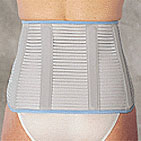 Rehband 1067  Dosi EQ Lumbar support COLOUR  WHITE  ON SALE WHILE STOCK LASTS