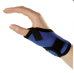 Rehband 4074 diagonal lycra short wrist