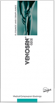 Venosan 6001 Thigh High PLAIN (Grip Top) Medical Compression Stockings 18-22 mmHg Open Toe