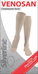 Venosan Silverline Lady Below knee Medical Compression Stockings 20-30 mmHg Closed Toe