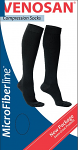 Venosan Microfibre Male Below knee Medical Compression Stockings 15-20 mmHg Closed Toe