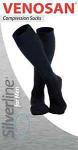 Venosan Silverline Gentleman Below knee Medical Compression Stockings 20-30 mmHg Closed Toe