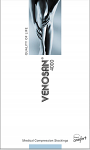 Venosan 4002 Thigh High PLAIN (Grip Top) Medical Compression Stockings 23-32 mmHg Open Toe