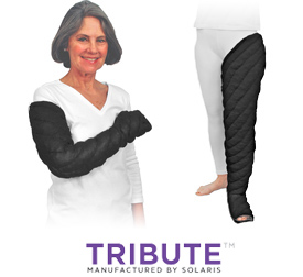 Tribute custom lymphedema garments